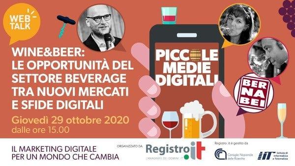 Piccole Medie Digitali   Web Talk - Wine & Beer
