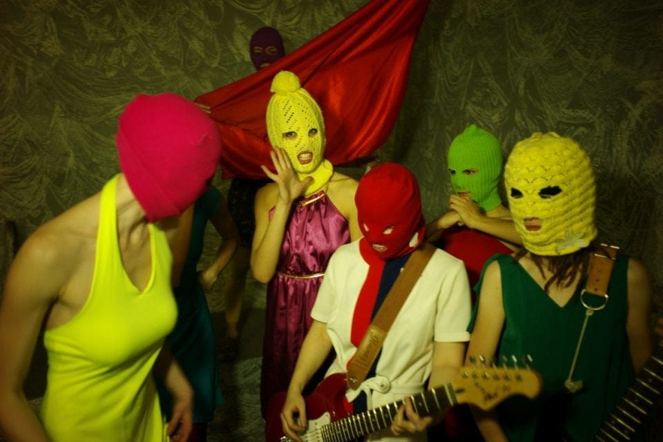"""Inside Pussy Riot: """"Political Art Can Change The World""""   The Theatre Times"""