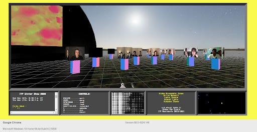 A screenshot of YORB