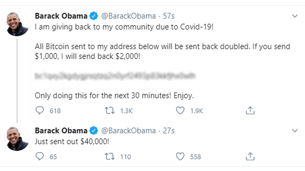 Twitter hack: Joe Biden, Barack Obama, Elon Musk among targets of apparent  Twitter Bitcoin scam - ABC7 Los Angeles