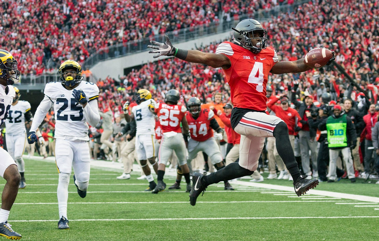 Image result for ohio state michigan""