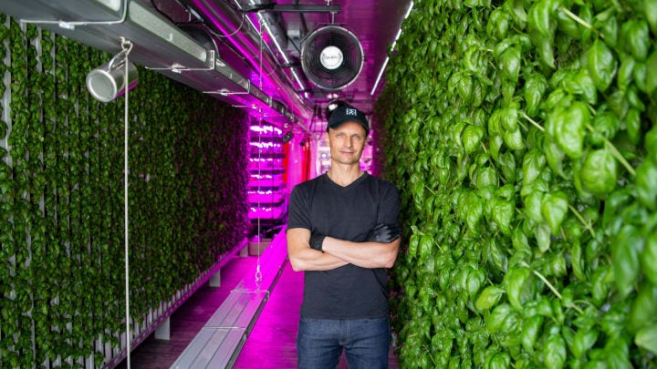 Elon Musk's Brother Kimbal Musk Grows Food in Shipping Containers