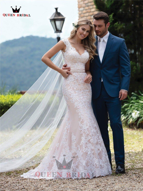 744742975 Custom Made Ball Gown Detachable Skirt Lace Beading Luxury Elegant Formal Pink Wedding Dresses Vestido De Noiva 2020 Wh45 Weddings Events Wedding Dresses