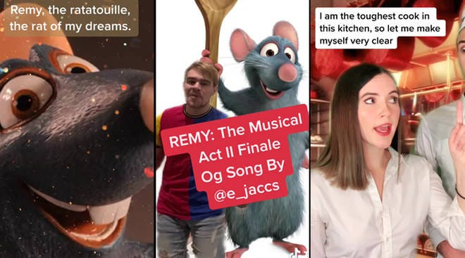 TikTok Ratatouille musical: The best songs and videos so far - PopBuzz