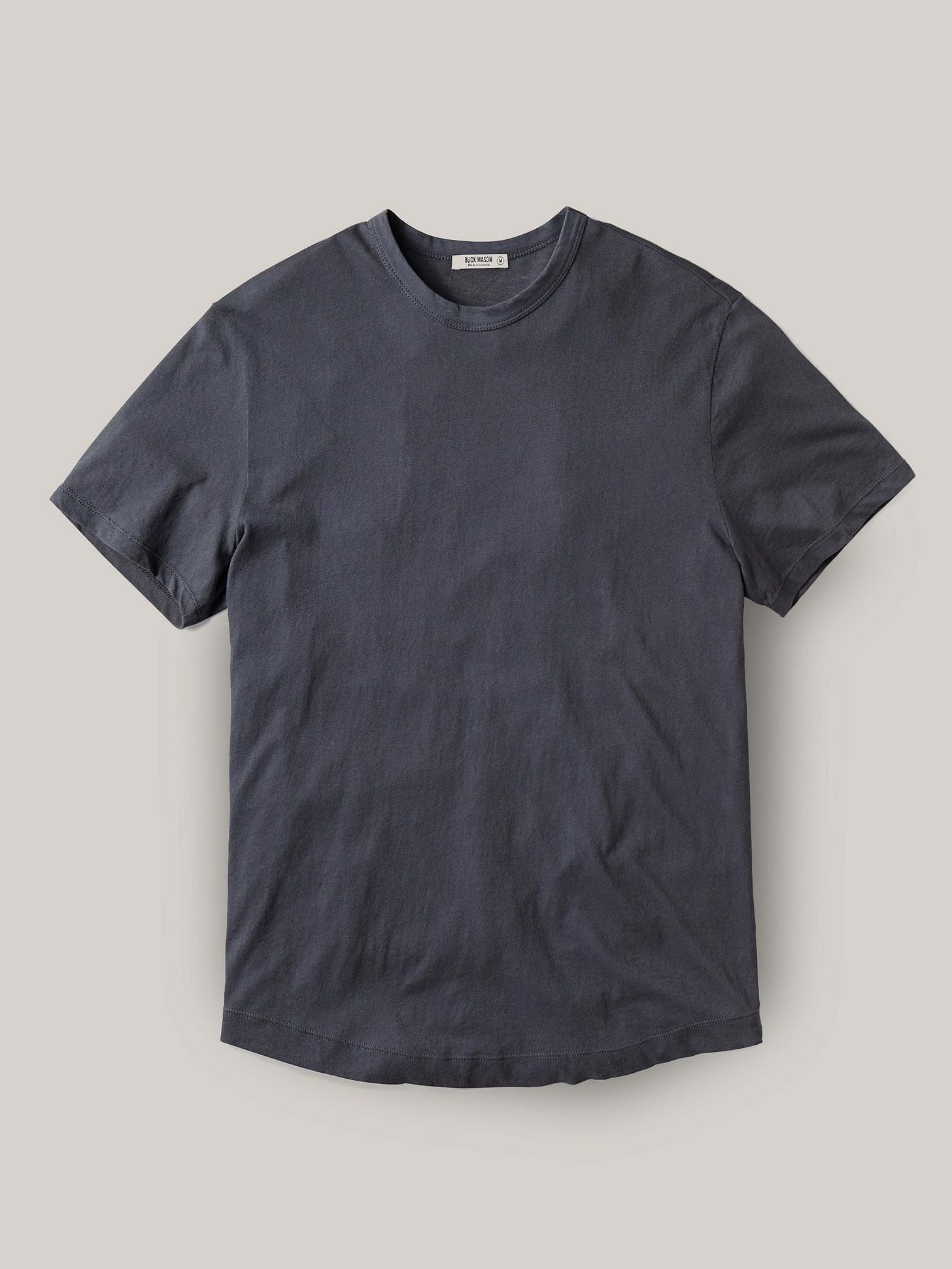Buck Mason - Iron Costa Curved Hem Tee