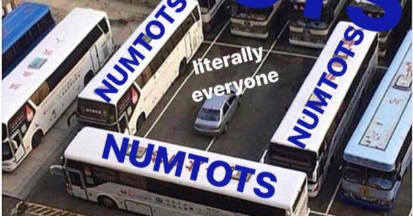 More NUMTOT Love
