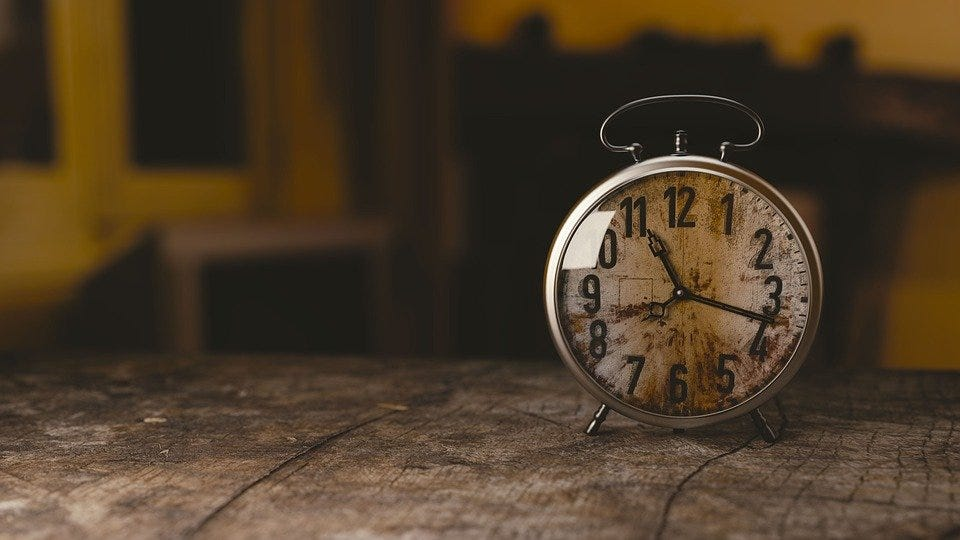 Clock, Alarm Clock, Watch, Time, Old, Numbers, Hours