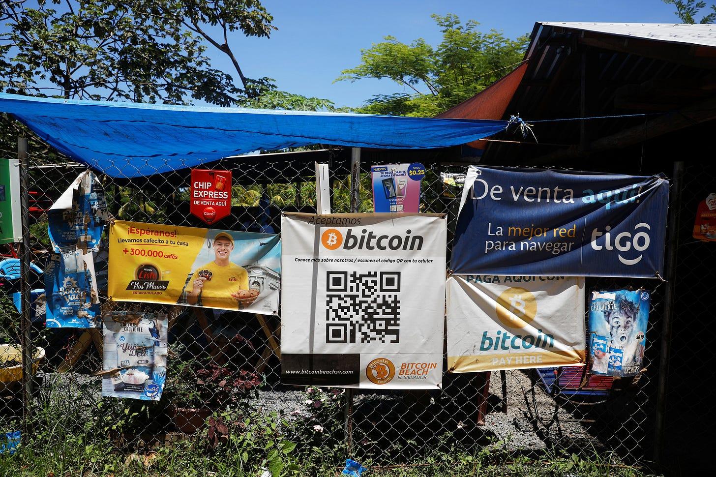 El Salvador makes bitcoin legal tender in world first