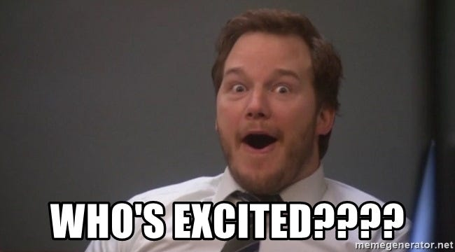 Excited Chris Pratt2 - Who's excited????