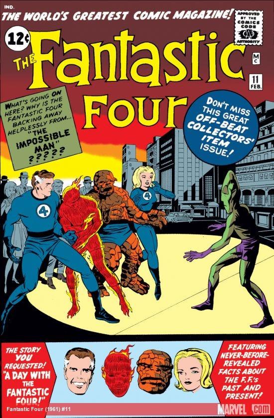 Fantastic Four (1961) #11 | Comic Issues | Marvel