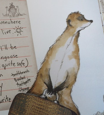 Meerkat Mail: A Picturebook about Families and Meerkats