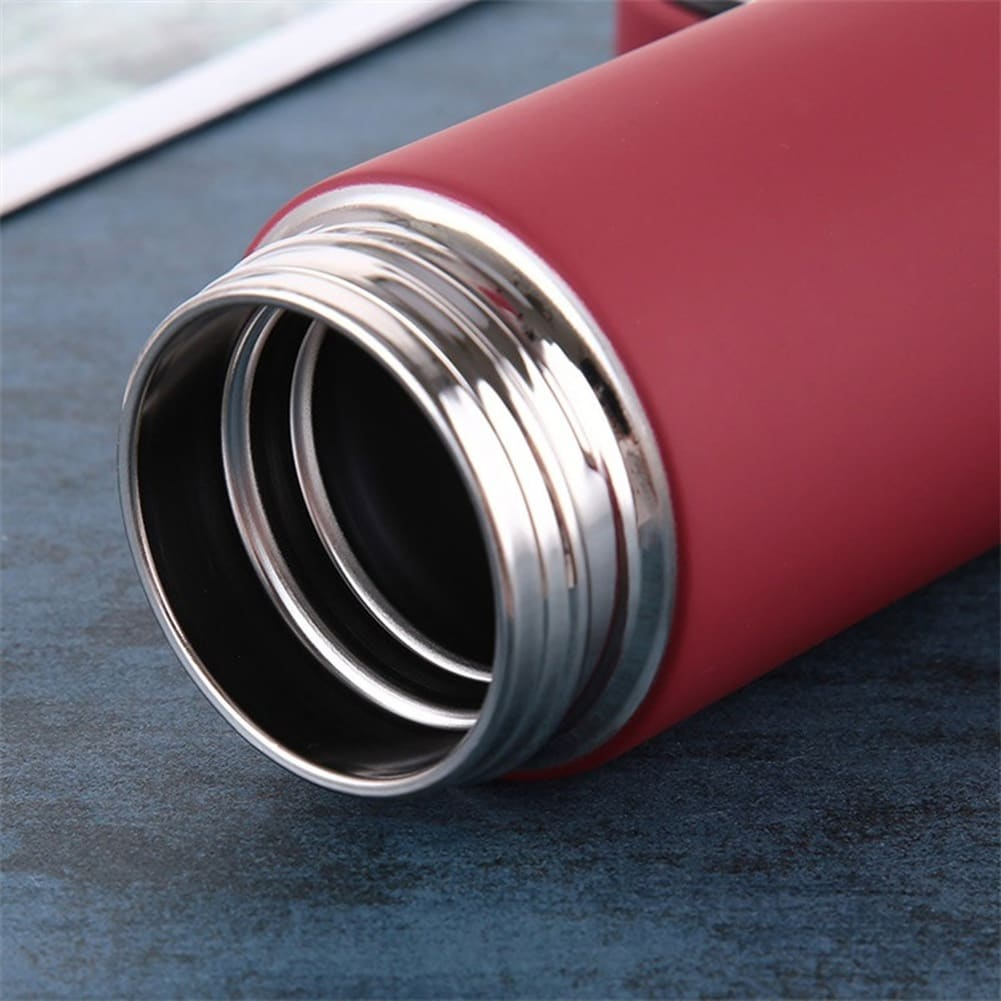 Thermos Tea Vacuum Flask With  Filter Stainless Steel 304 Thermal Cup Coffee Mug Water Bottle Office Business Home Thermo