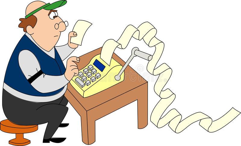 https://thumbs.dreamstime.com/b/accountant-man-wearing-green-visor-running-adding-machine-huge-pile-adding-machine-tape-piling-up-40411511.jpg