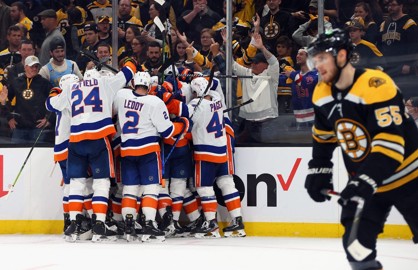 3 takeaways following the Bruins' Game 2 loss to the Islanders