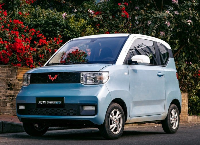Wuling MINI EV starts to pre-sale, Price hits new low with starting at 29,800yuan