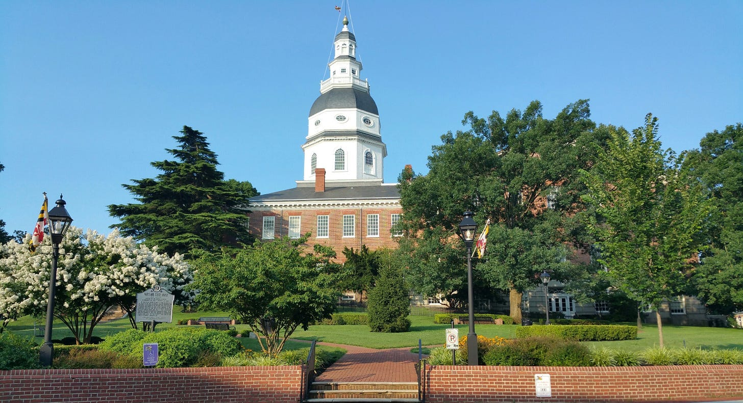 Maryland State House- Annapolis, MD – MDT Travels