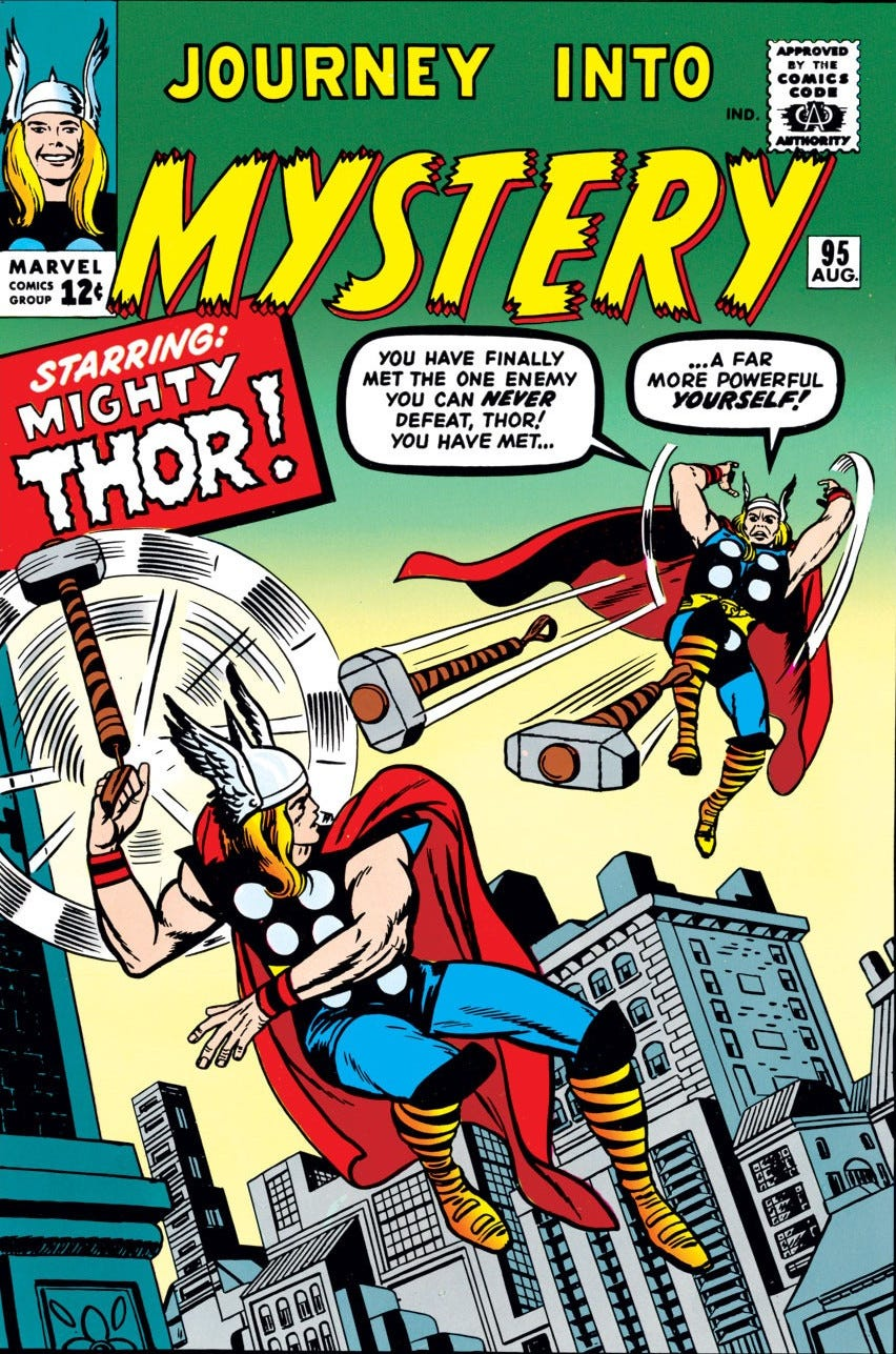 Journey into Mystery Vol 1 95 | Marvel Database | Fandom