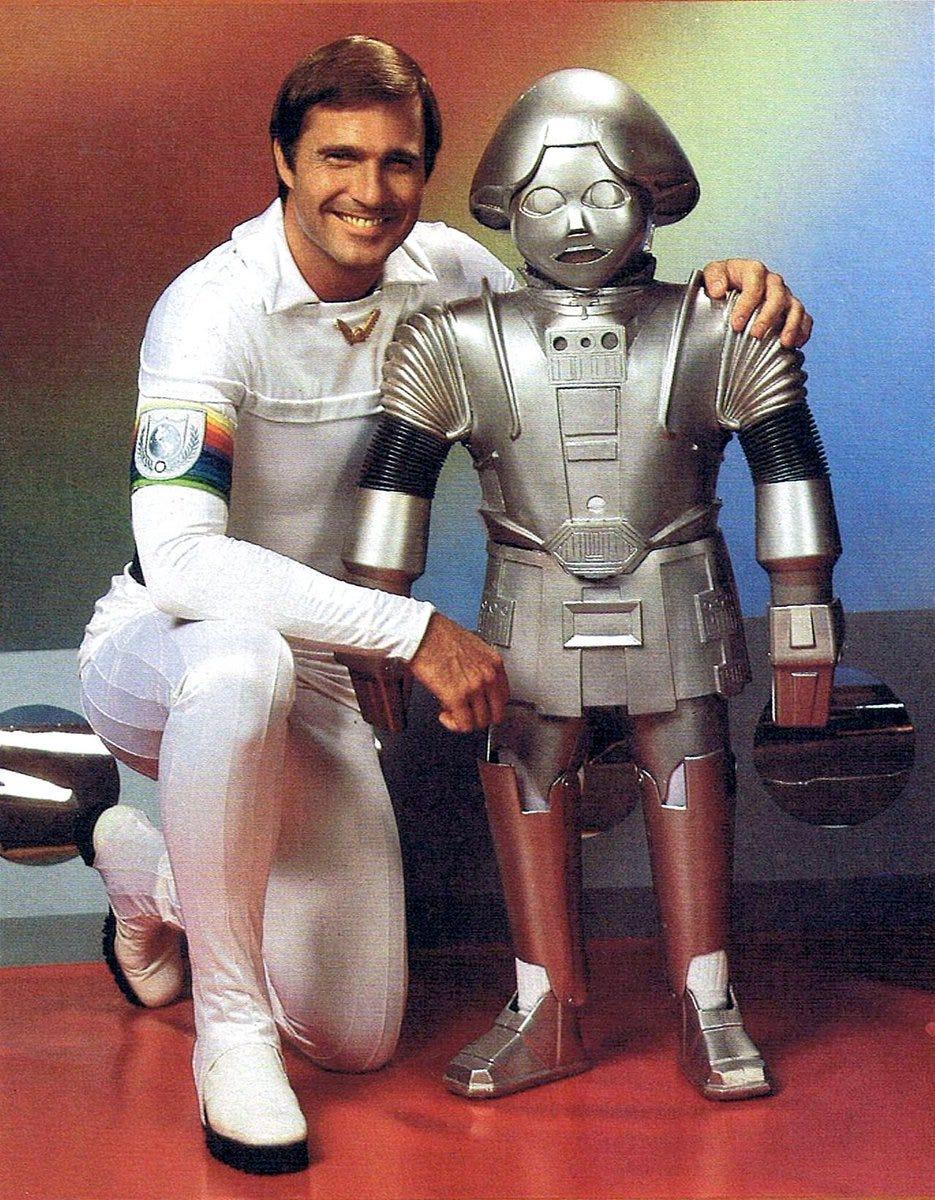 """Cory Doctorow on Twitter: """"Felix Silla as Twiki in Buck Rogers in the 25th  Century (1978) https://t.co/6grS3jLo4d… """""""