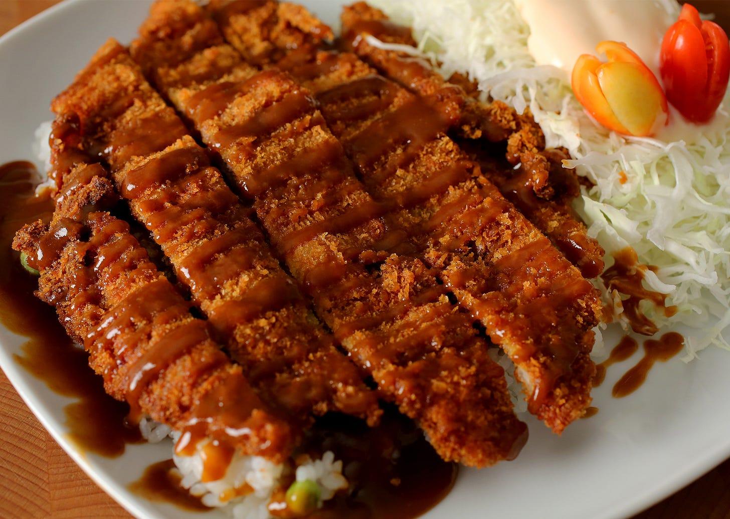 Pork cutlet (Donkkaseu) recipe - Maangchi.com