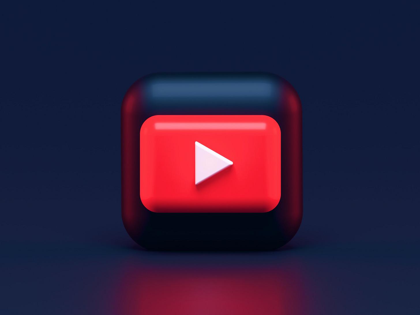 Photo illustration of the YouTube logo. (Alexander Shatov / Unsplash)