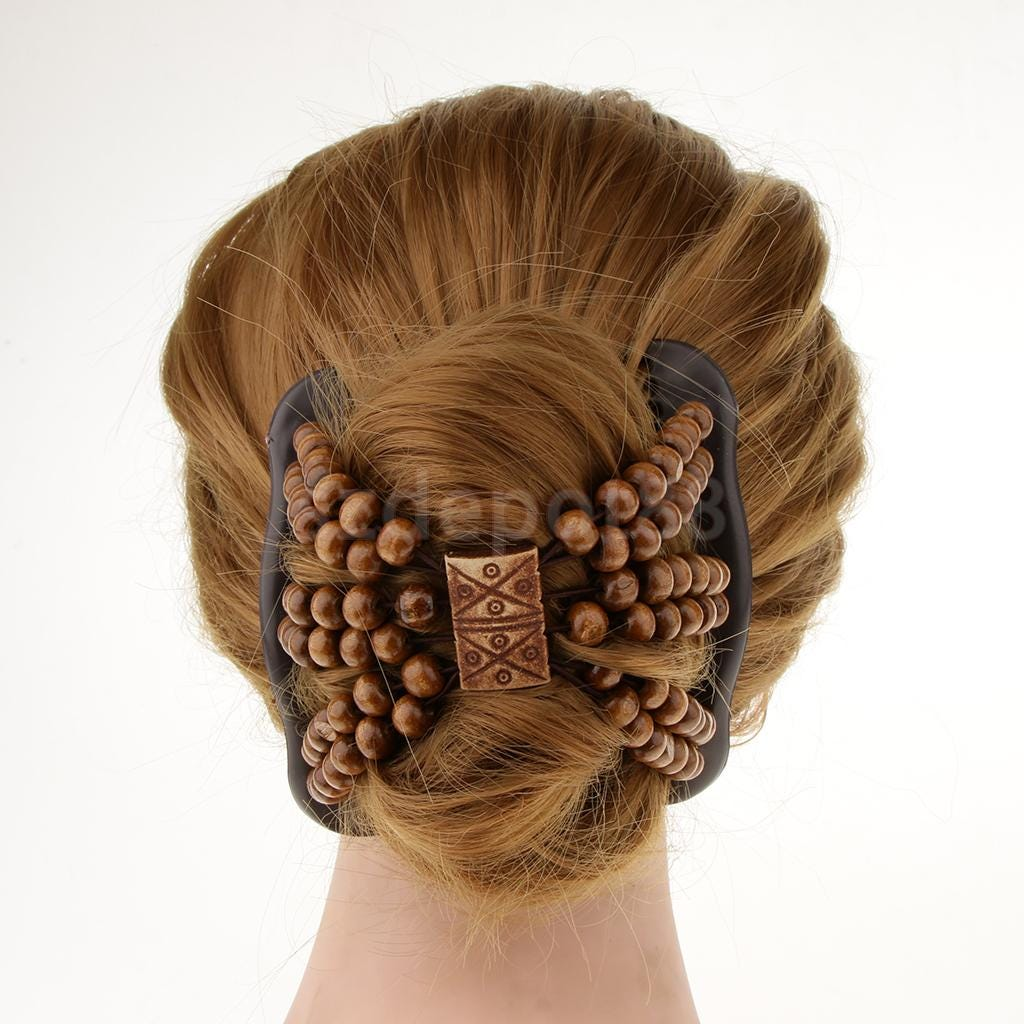 33489190 Beauty Thick Hair Double Clip Combs Bun Maker Hair Accessories For Girls Women Long Short Hair Apparel Accessories Headwear