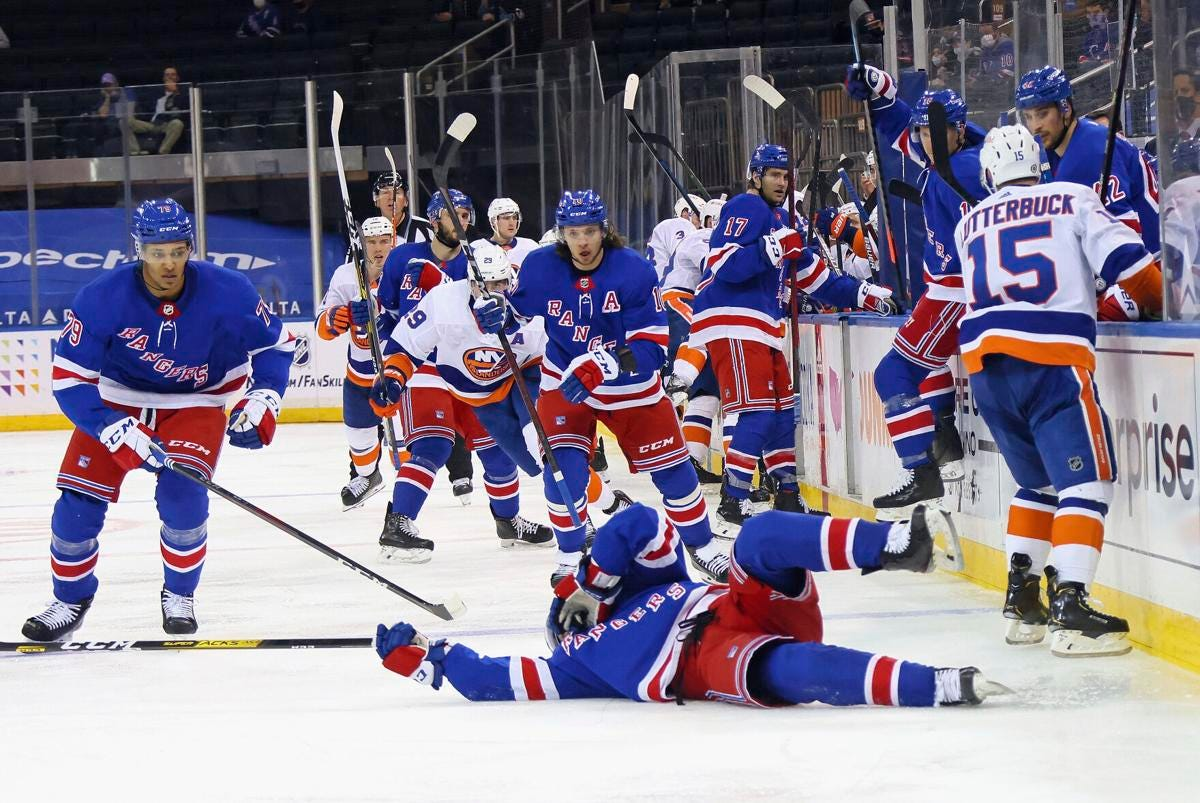 Varlamov gets 3rd shutout vs. Rangers in Islanders' 4-0 win   State News    thedailystar.com