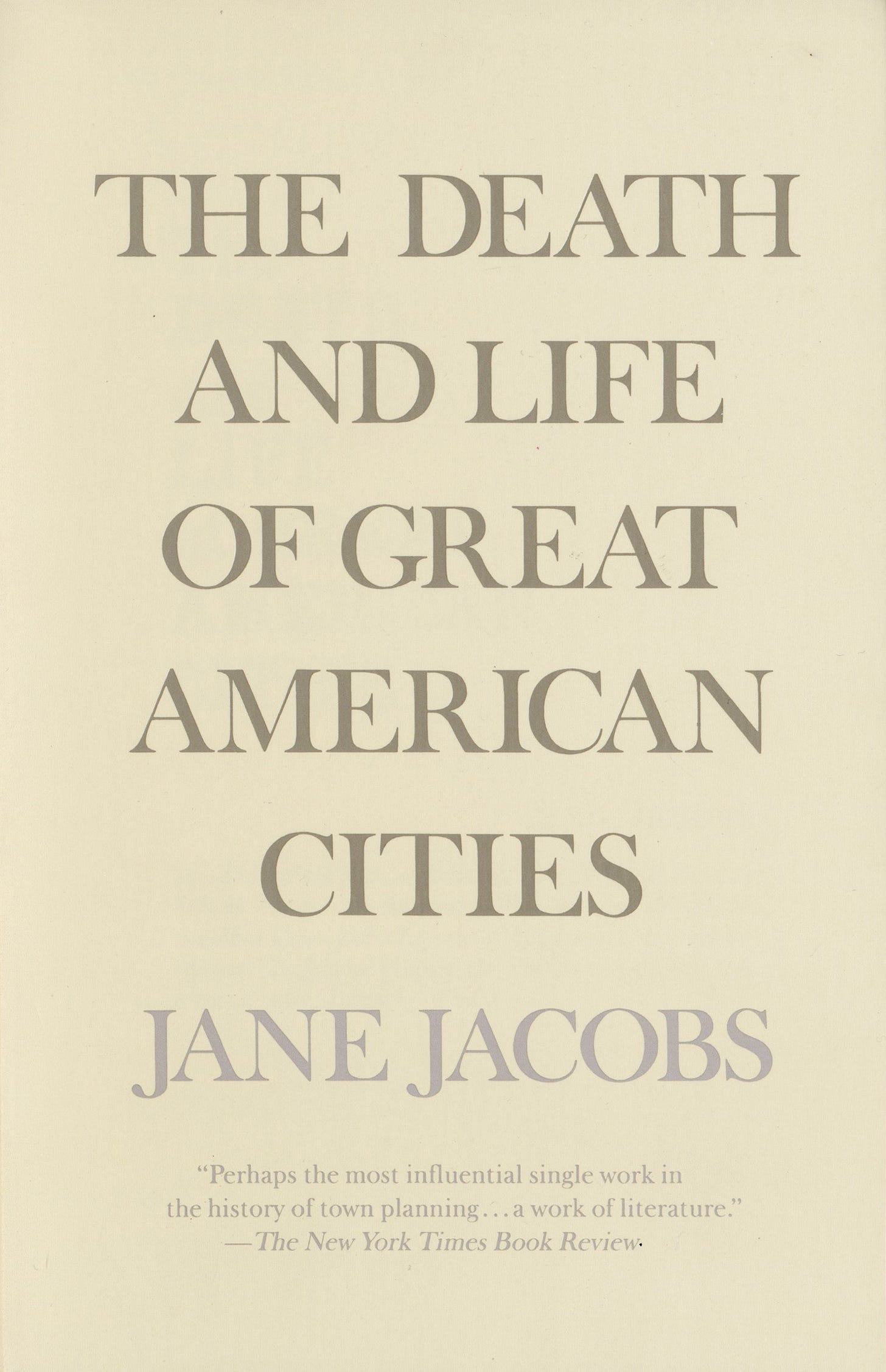 The Death and Life of Great American Cities: Jacobs, Jane: 8601401169277:  Amazon.com: Books