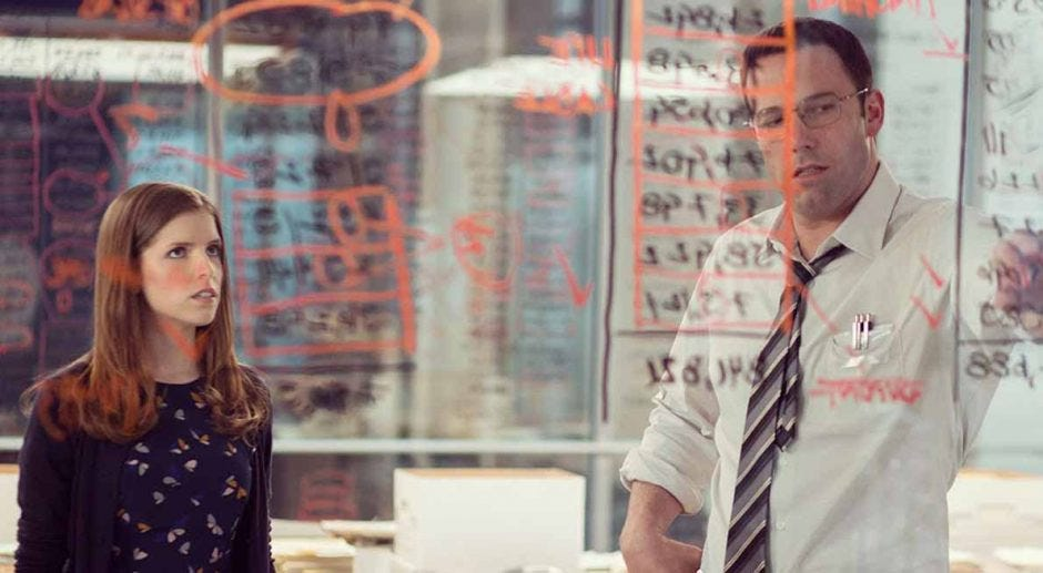 Affleck stars in 'The Accountant,' an odd but coherent mix | The Daily  Gazette