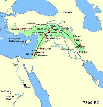 Fertile Crescent - Wikipedia