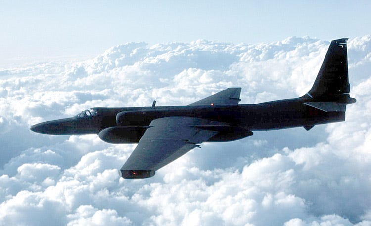 Image result for u-2 spy plane