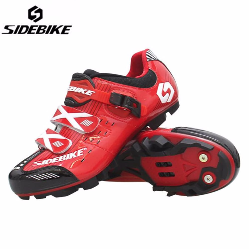 Sidebike Cycling Shoes Men add pedal set Self-locking Mountain Bike Sapatos ciclismo MTB Non-slip Wear-resistant Bicycle Shoes