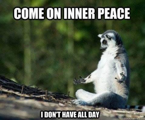 "Ann O'Dea on Twitter: """"@Herschberg: Come on inner peace - I don't have all  day! http://t.co/R1gAQBukKM"" love it"""