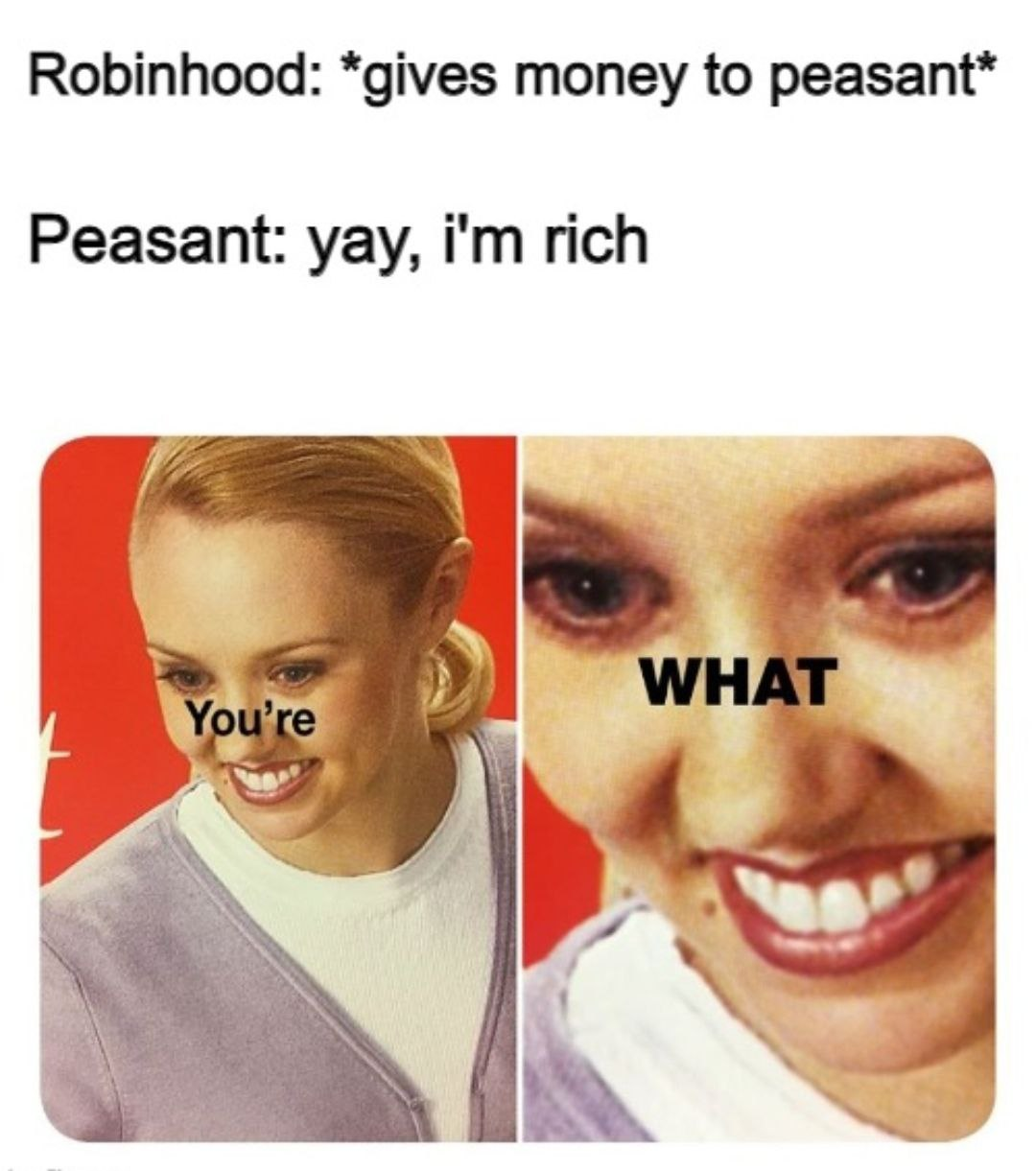 robinhood meme