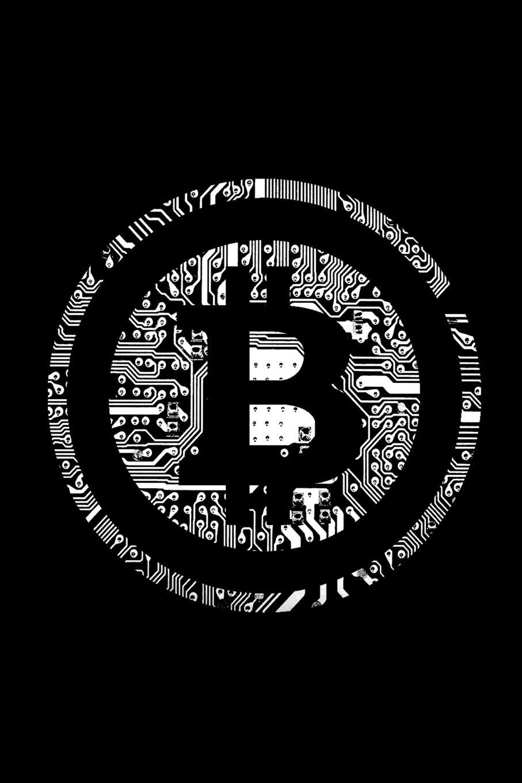 Amazon.com: Bitcoin Notebook: White BTC Crypto Logo Design ~ Small ...