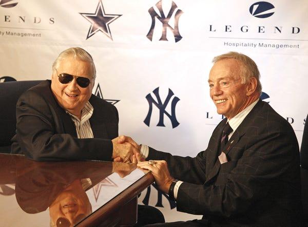 Jerry Jones and George Steinbrenner negotiate casino deal with Inglewood  stadium - 2UrbanGirls