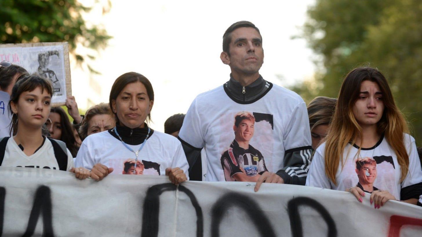 """Caso Saccoccia: """"La pena va a ser ejemplar"""", dijo el padre de la víctima"""