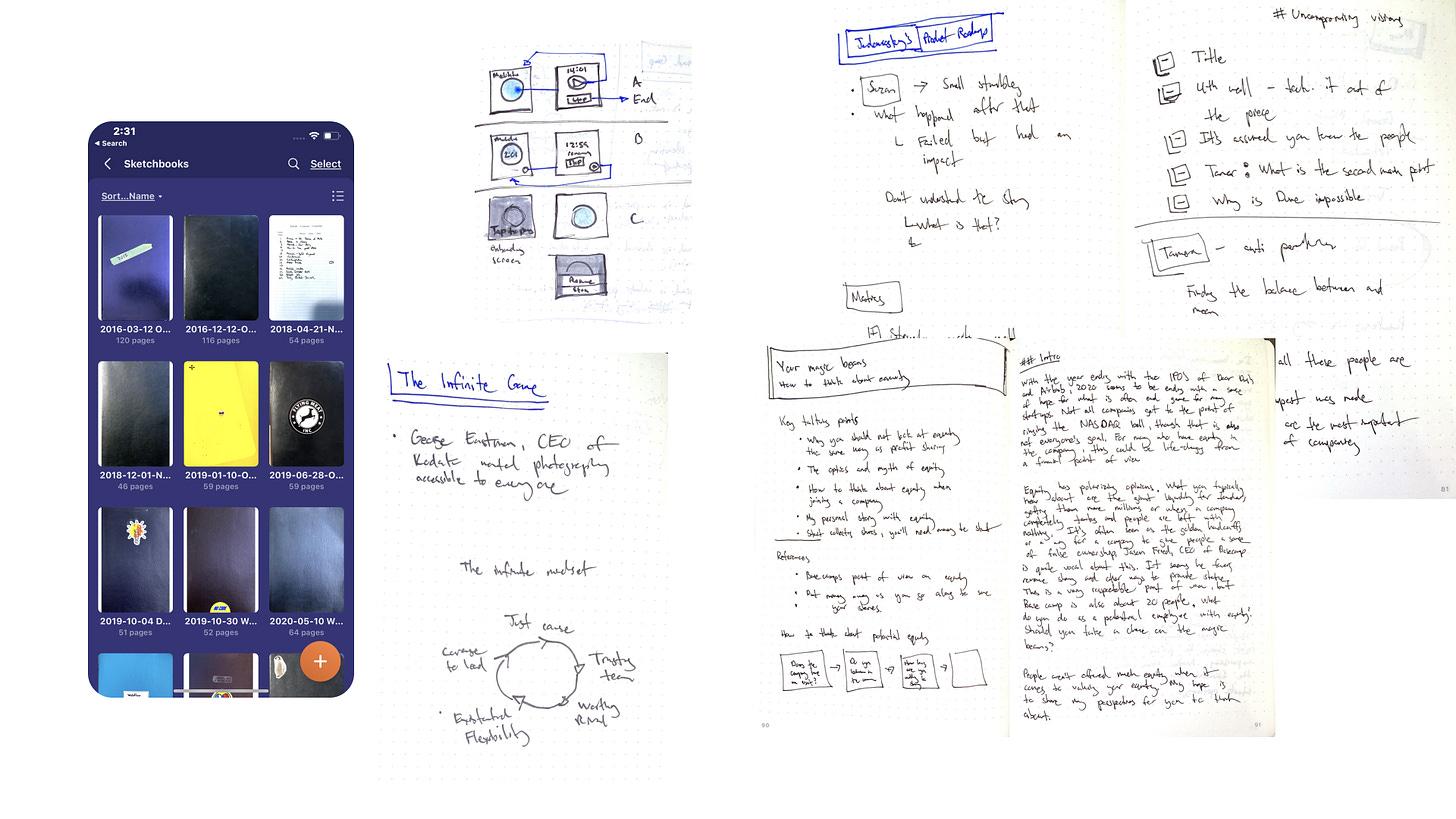 Screenshot of Scanner Pro