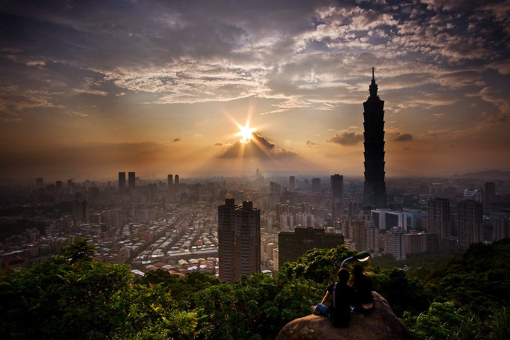 Taipei 101 - We're heading for our hope ...
