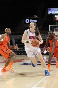 Alicia Froling of the SMU Mustangs