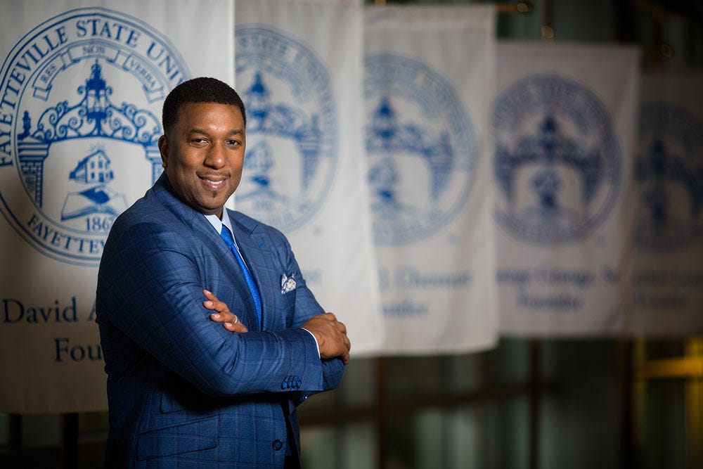 Fayetteville State University Welcomes Our 12th Chancellor