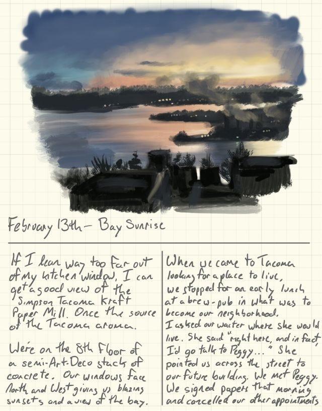 February 13th - Bay Sunrise