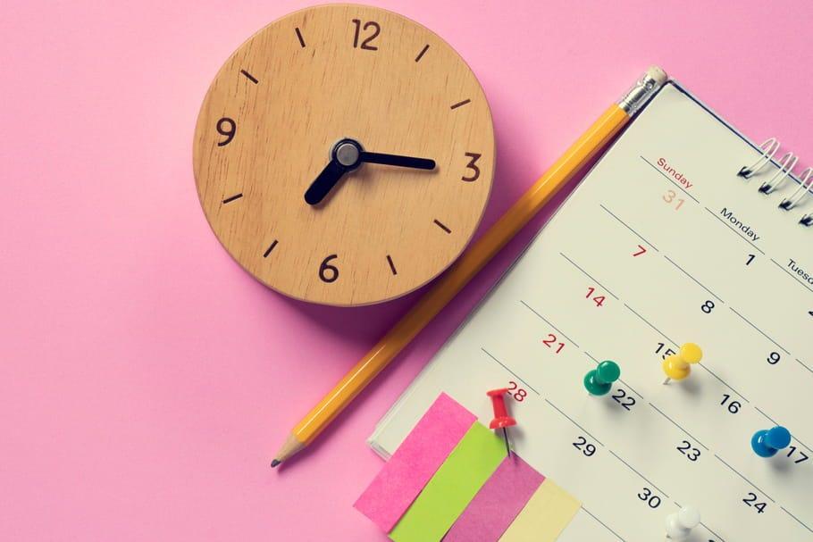 Calendrier de ménage : planning d'1 mois pour ranger en 30 min par jour