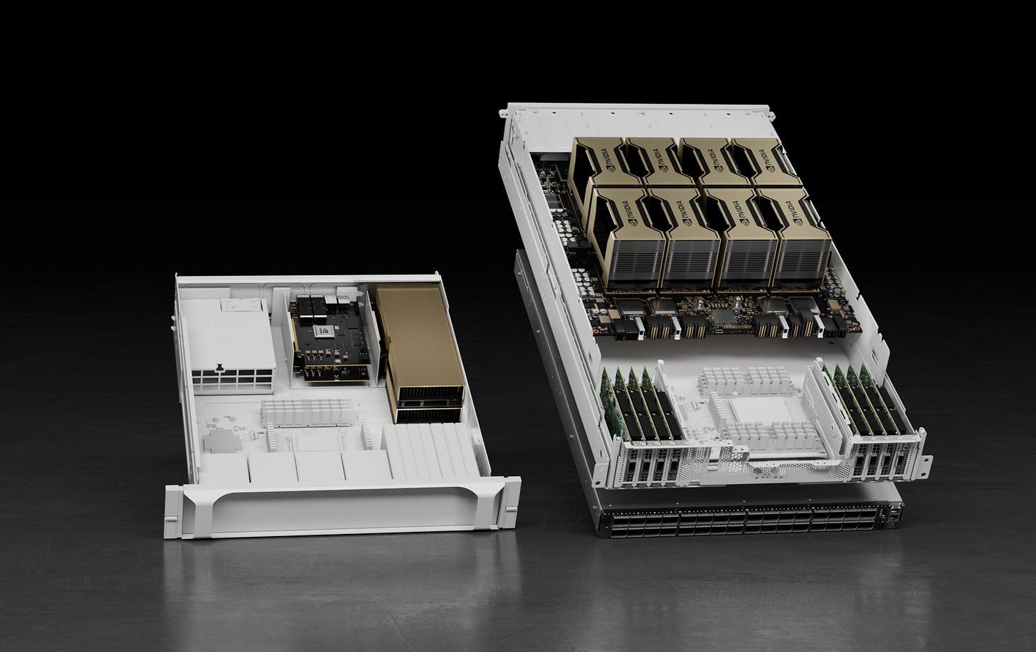 Nvidia HGX AI supercomputer