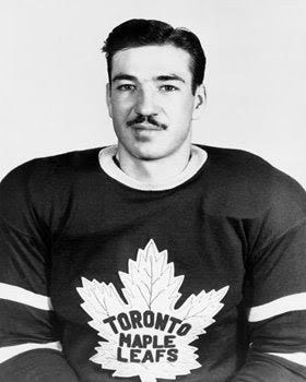 Vintage Leafs: Garth Boesch and his awful moustache.