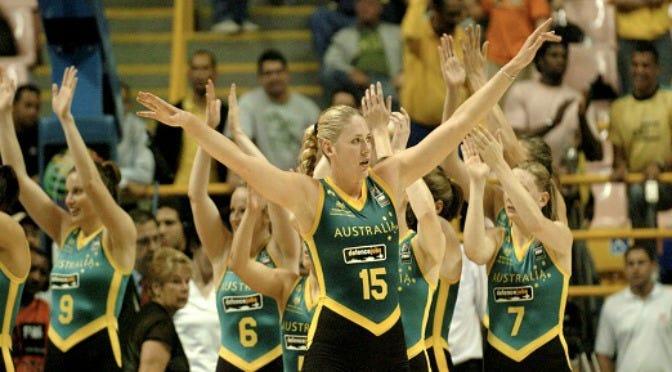 Lauren Jackson | Credit: Basketball Australia