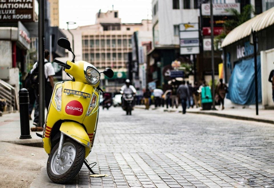 Image result for bounce india scooter