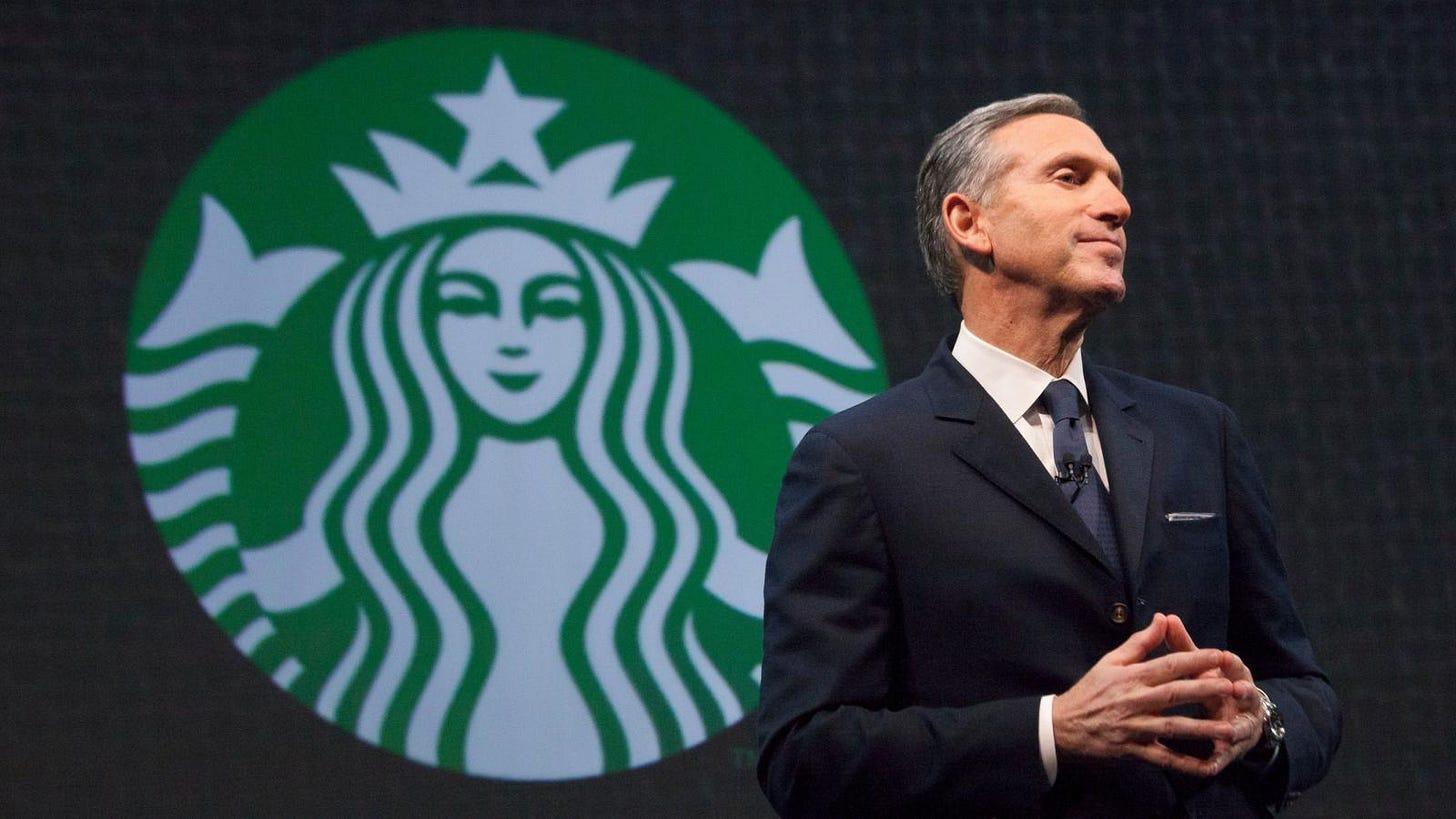 Howard Schultz is retiring from Starbucks — Quartz at Work
