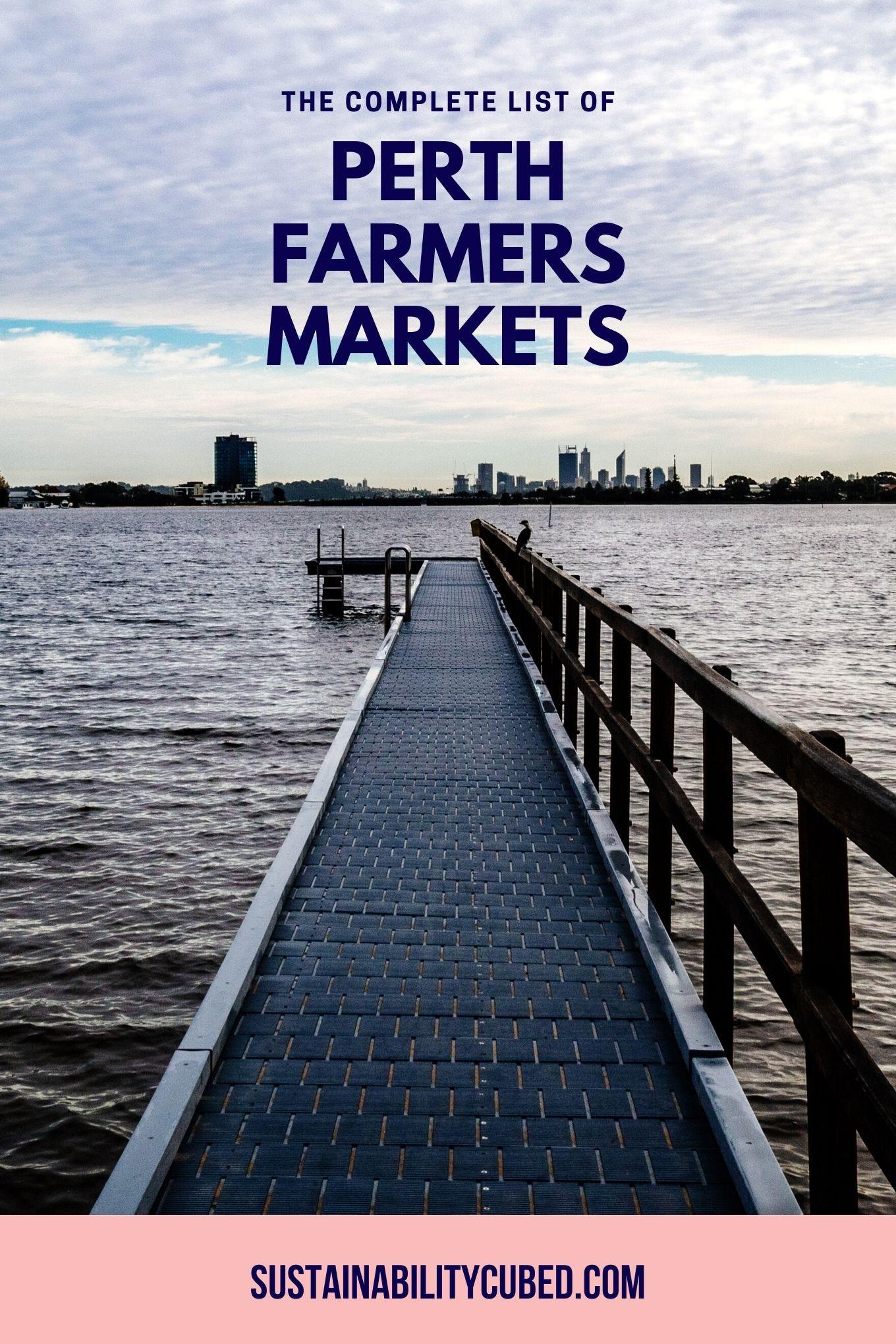 List of Perth Farmers Markets