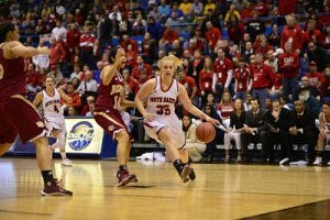 Nicole Seekamp - Courtesy University of South Dakota Athletics