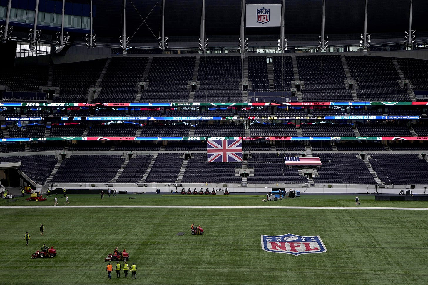 NFL back in London, league on verge of more international games
